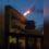 [VIDEO] CARDITO: Si incendia un lampione sulla sannitica, panico tra la folla e traffico in tilt